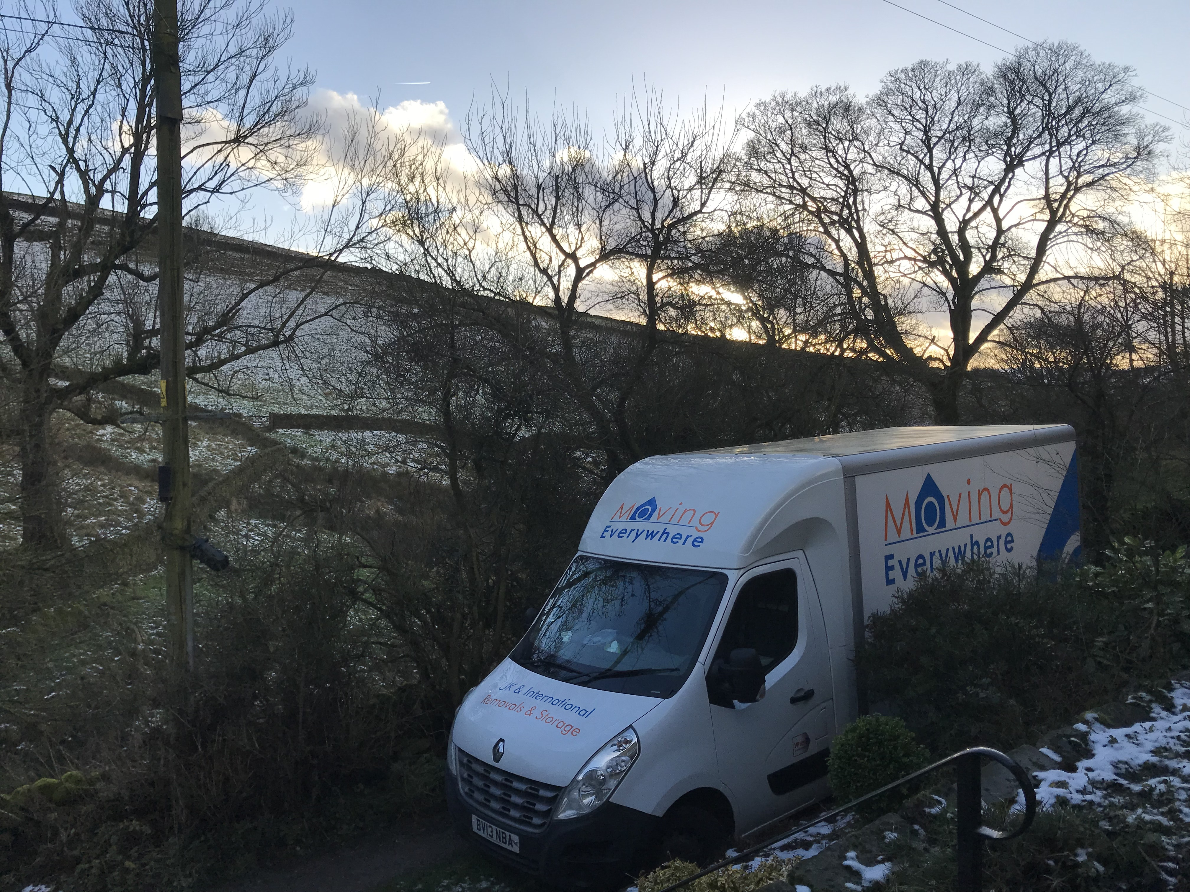removals in winter